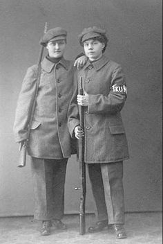 Female Red Guards of the Finnish Civil War