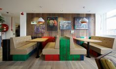Nando's Head Office Design & Build by www.oktra.co.uk Photography by Richard Ivey