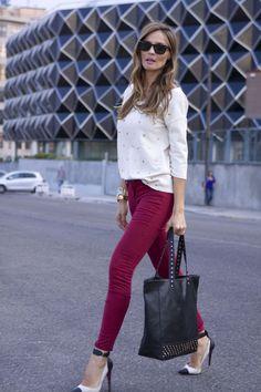 Pantalones De 74 Color Mejores Winter Granate Imágenes Fall PPtqAwZ eb55f0f8a15b