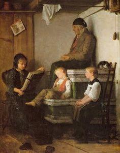 Reading and Art: Albert Anker