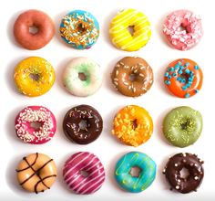 If I ever make a box of polymer clay doughnuts. These are so cute!