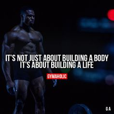 It's Not Just About Building A Body #fitness #inspiration #motivation #fitspiration #health