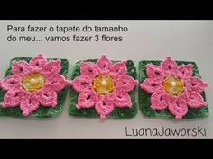 Vamos Aprender a Fazer Este Lindo Tapete Escamas, Feito com a Flor Taís; Cristina coelho alves - YouTube