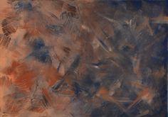 """Abstraktes Acrylbild """"Erde in Australien"""" - Größe: 60 x 80 cm --- www.elfensteins-acrylmalerei.de"""