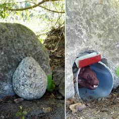 "Gefällt 90 Mal, 1 Kommentare - @gc_mlauha auf Instagram: ""Wow, what a nice and creative geocache  #geocaching #geocache #mouse #mousehole"""