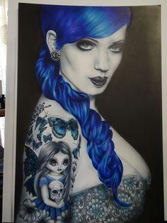 A Splash of Blue by julie