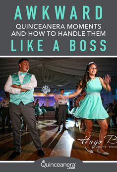 Although you've been planning your party for years, something is bound to go wrong. Here are the most awkward quinceanera moments and how to deal with them. Quinceanera Dances, Quinceanera Court, Quinceanera Planning, Quinceanera Themes, Quinceanera Invitations, Quinceanera Traditions, Quinceanera Centerpieces, Quinceanera Hairstyles, Prom Hairstyles