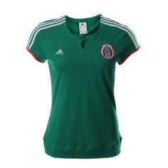 Apoya a la Seleción Mexicana de Fútbol y luce increíble con el nuevo diseño del Jersey Adidas FMF.