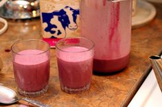 Chokecherry milkshake by Indirect Heat, via Flickr