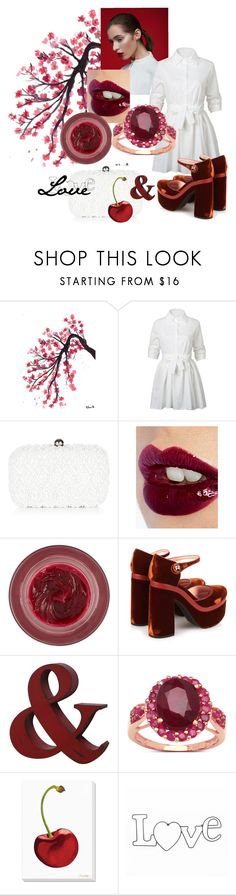 """Anastasya Cherry love 🍒"" by olga-highball on Polyvore featuring мода, WithChic, Monsoon, Charlotte Tilbury, Lipstick Queen, Rochas, Malaika, Grandin Road и WALL"