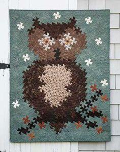 TWISTER OWL QUILT KIT