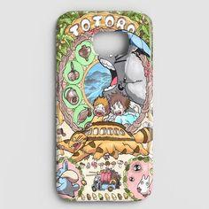 Studion Ghibli Character Poster Art Samsung Galaxy S7 Case