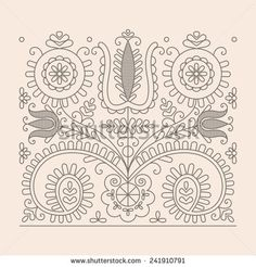 stock-vector-traditional-floral-hungarian-pattern-from-kalotaszeg-region-of-transylvania-241910791.jpg (450×470)