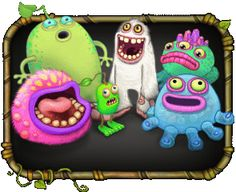 My Singing Monsters. Favorite world building game so far. Easy and fun to play. Plus it doesn't require you to stay online all the time.