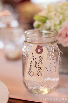 """Eat, Drink, and be Married"" mason jars www.facebook.com/LFFdesigns"
