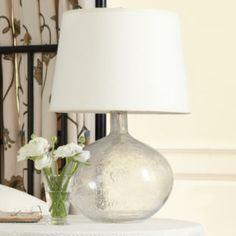 Malia Seeded Glass Lamp | Lighting | Ballard Designs