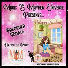 They say opposites attract but can complete polar opposite attract?  Anything is possible in the town of Assjacket W.V. Preorder Holiday Vacation by Amy Gregory TODAY! #MagicMayhemUniverse #ebook #pnr #UnleashTheMagic #preorder