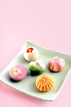 Japanese sweets, Wagashi Deserts to die for! Aline :)
