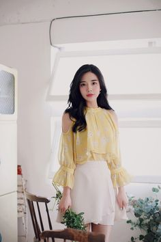 Trendy Fall Outfits, Spring Outfits, Cute Outfits, Korea Fashion, Pop Fashion, Girl Fashion, Girls Fashion Clothes, Fashion Outfits, Clothes For Women