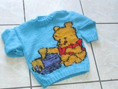 tricoter winnie l'ourson