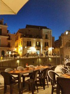 Bitonto, Italy at night