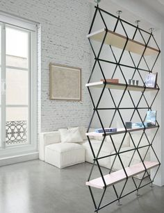 Cheapest Furniture Removal in 2020 Cheap Furniture Stores, Unique Furniture, Home Decor Furniture, Furniture Design, Office Furniture, Room Divider Shelves, Partition Design, Furniture Removal, Steel Furniture