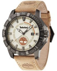 Timberland | Gents Harling Beige Strap Watch | Lyst
