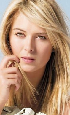Maria Sharapova Beautiful Face Pictures and Ideas on Weric Most Beautiful Faces, Beautiful Celebrities, Beautiful Eyes, Beautiful Females, Maria Sharapova Hot, Sharapova Tennis, Maria Sarapova, Belle Silhouette, Tennis Players Female