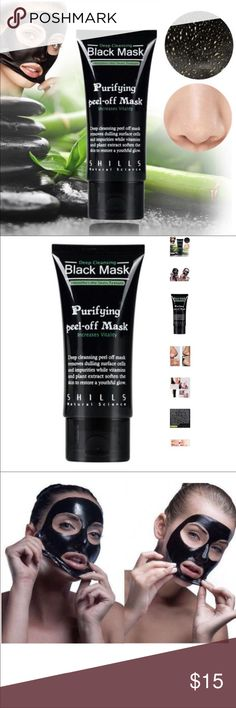 Purifying Black Peel-off Mask Black Head Buster Facial Cleansing. Blackhead Remover Deep Cleanser. Acne Face Mask. Shills Deep Cleansing Purifying Peel-Off Black Face Mask is the ultimate blackhead-buster. Specially-formulated to unblock clogged pores by peeling blackheads, dirt and spot-causing bacteria away. Activated bamboo charcoal acts like a magnet to draw out the most deeply-rooted impurities while natural ingredients calendula, rosemary and grapefruit help to rebalance and restore a…
