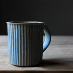 Ripple Retro Ceramic Mug Saucer Set