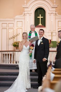 Laura Hollander Photography- wedding ceremony- wedding day emotions- bride and groom- lace bridal gown