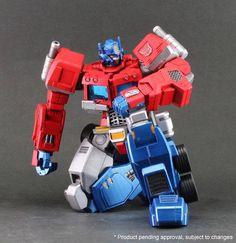 Transformers News: Colour Images - Ori Toy Hero of Steel Optimus Prime