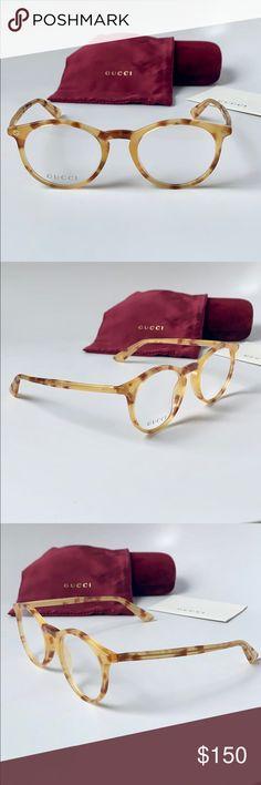 4b9aaa518bd Gucci Eyeglasses GG0121O-004 Havana Transparent Gucci Eyeglasses  GG0121O-004 Havana Transparent Item Specs