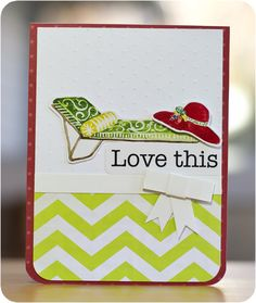 Enchanted and Classic Beach Stickers #Scrapbooking Card from Creative Memories    http://www.creativememories.com
