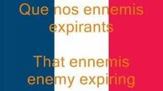 La Marseillaise, French National Anthem (Fr/En) - YouTube