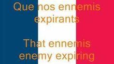 La Marseillaise, French National Anthem (Fr/En) - YouTube