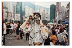 Spread from Martin Parr, Hong Kong Parr, 2014. Courtesy Stuart Smith