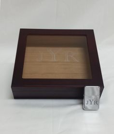 Engraved Humidor Gift Set, Lighter, Wedding gift, Groomsmen Gift, Best Man Gift, Aniversary Gift, Personalized Humidor, Engraved.