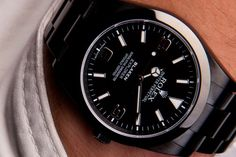 Black Rolex Explorer