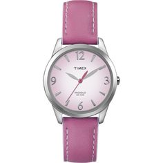 Timex® Weekender™ Casual ($45) ❤ liked on Polyvore featuring jewelry, watches, accessories, timex, timex watches, timex wrist watch, sporty watches and dial watches