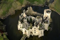 The French Sleeping Beauty: The abandoned castle left to deteriorate due to lack of funds. Château de la Mothe-Chandeniers in Les Trois-Moutiers in Poitou-Charentes, France. Abandoned Castles, Abandoned Mansions, Abandoned Buildings, Abandoned Places, Castle Ruins, Medieval Castle, Beautiful Castles, Beautiful Places, French Castles