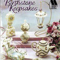 Birthstone Keepsakes(enfeite) Сувениры (англ) - 110485152107956042649 - Álbuns da web do Picasa Food Patterns, Craft Patterns, Crochet Books, Thread Crochet, Crochet Chart, Crochet Patterns, Crochet Home Decor, Crochet Magazine, Attic Design