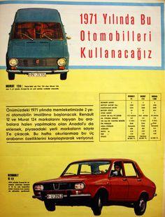 OĞUZ TOPOĞLU : 1971 yılında bu otomobilleri kullanacağız murat 12...