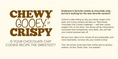 'Anderson Live's' Next Great Chocolate Chip Cookie Challenge   http://andr.tv/12AdJfi