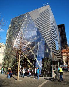 9/11 Memorial Museum Pavilion Building, World Trade Center, New York City