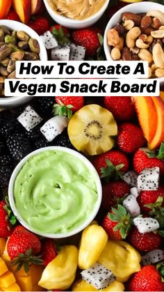 Vegan Party Food, Easy Party Food, Snacks Für Party, Vegan Snacks, Veggie Recipes, Cooking Recipes, Healthy Recipes, Snack Recipes, Best Appetizers