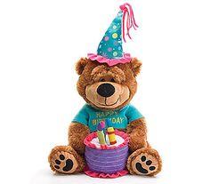 Birthday Bear in Princeton, Plainsboro, & TrentonNJ, Monday Morning Flower and Balloon Co.