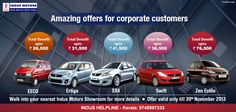 Amazing offers for Corporate Customers