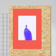 La Montana Vegetal I   Kunstdruck  Artwork  Poster Series