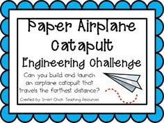 Engineering Challenge: Can you build and launch an airplane catapult that travels the farthest distance?